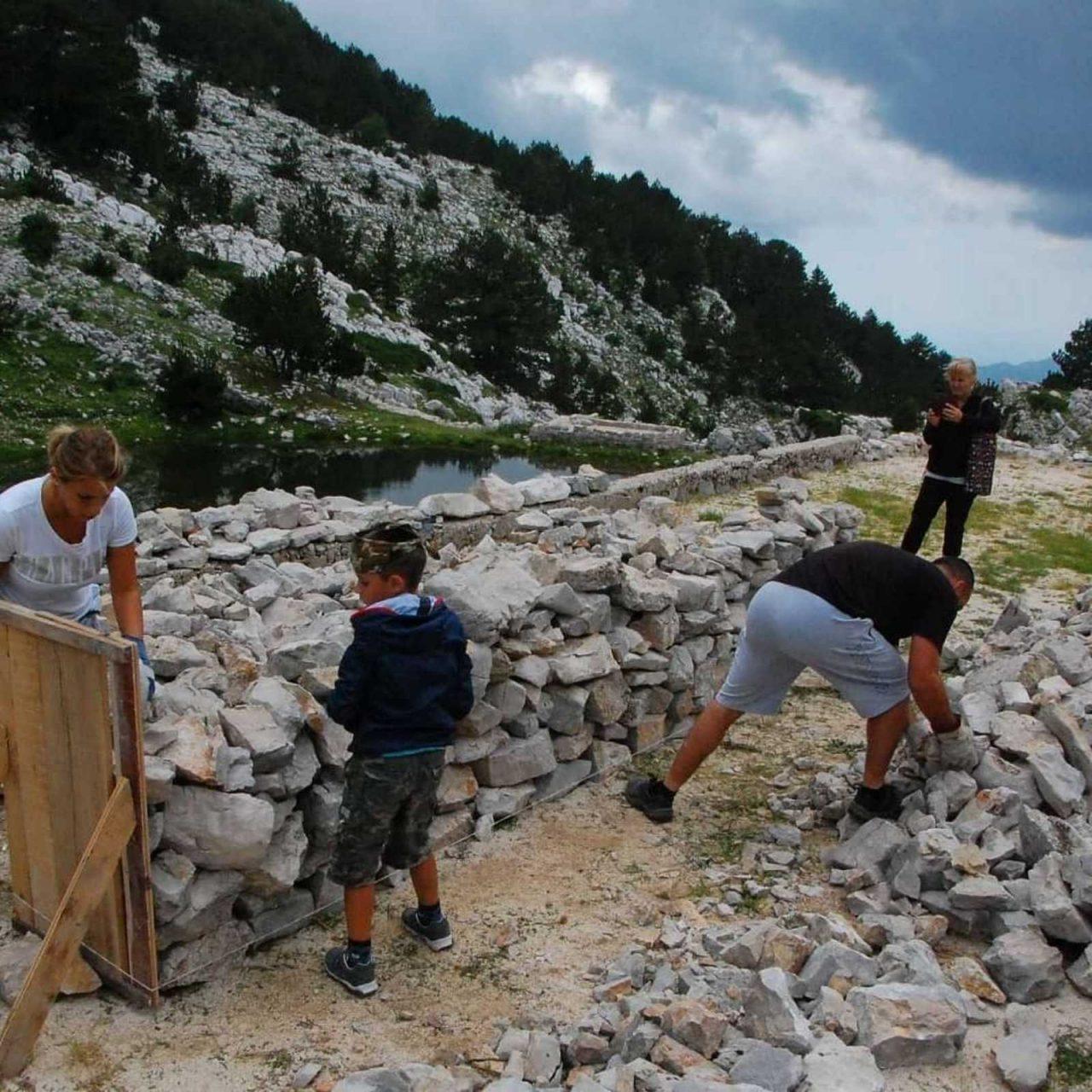 Naš krš: Dođite na prvenstvo Crne Gore u gradnji suvomeđe
