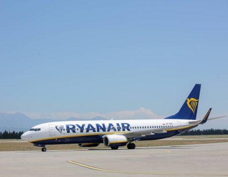 Ryanair leti iz Podgorice za Barselonu, Brisel, Berlin i London
