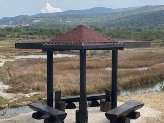Tivat: U Solilima još jedno mjesto za odmor i posmatranje ptica